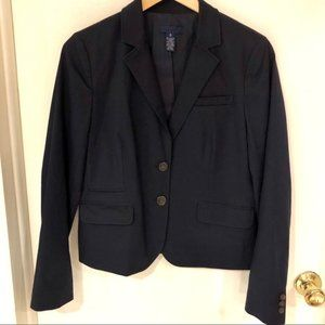 J. Crew Schoolboy Blazer in Navy Cotton